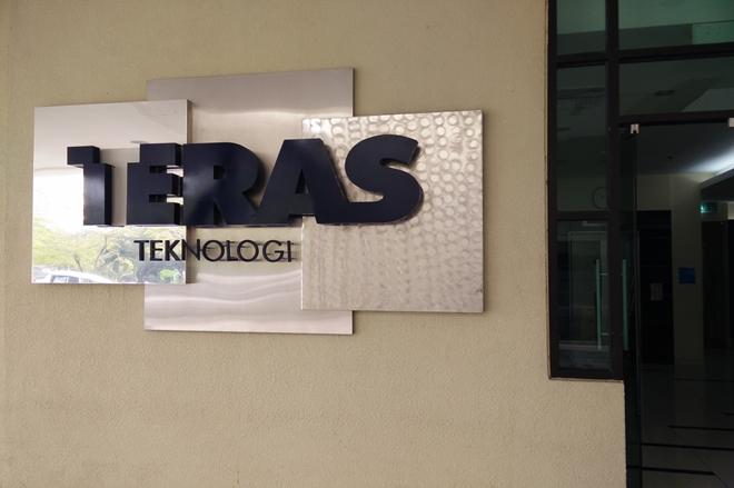 Digital Signage At Teras Teknologi Teras
