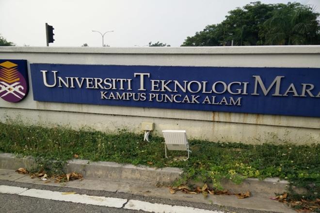 Digital Signage At Uitm Perpustakaan Tun Abdul Razak Campus Puncak Alam 2015