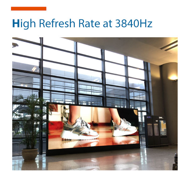 LED Display High Refresh Rate