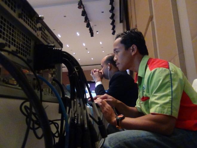 Live Video Streaming Mesyuarat Pengurusan Atasan Hotel