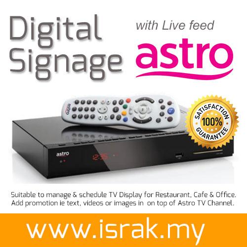 Astro Digital Signage