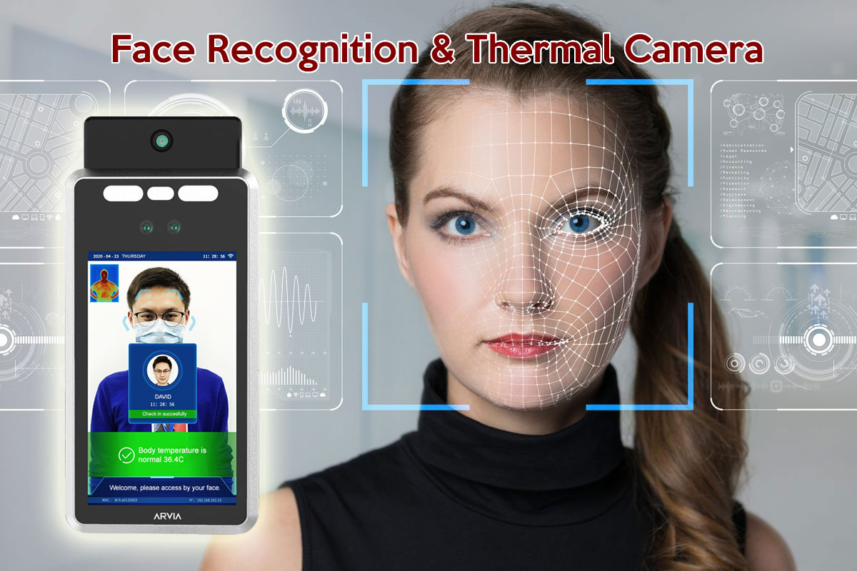 face recognition & thermal camera