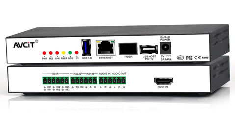 ip-based KVM videowall controller
