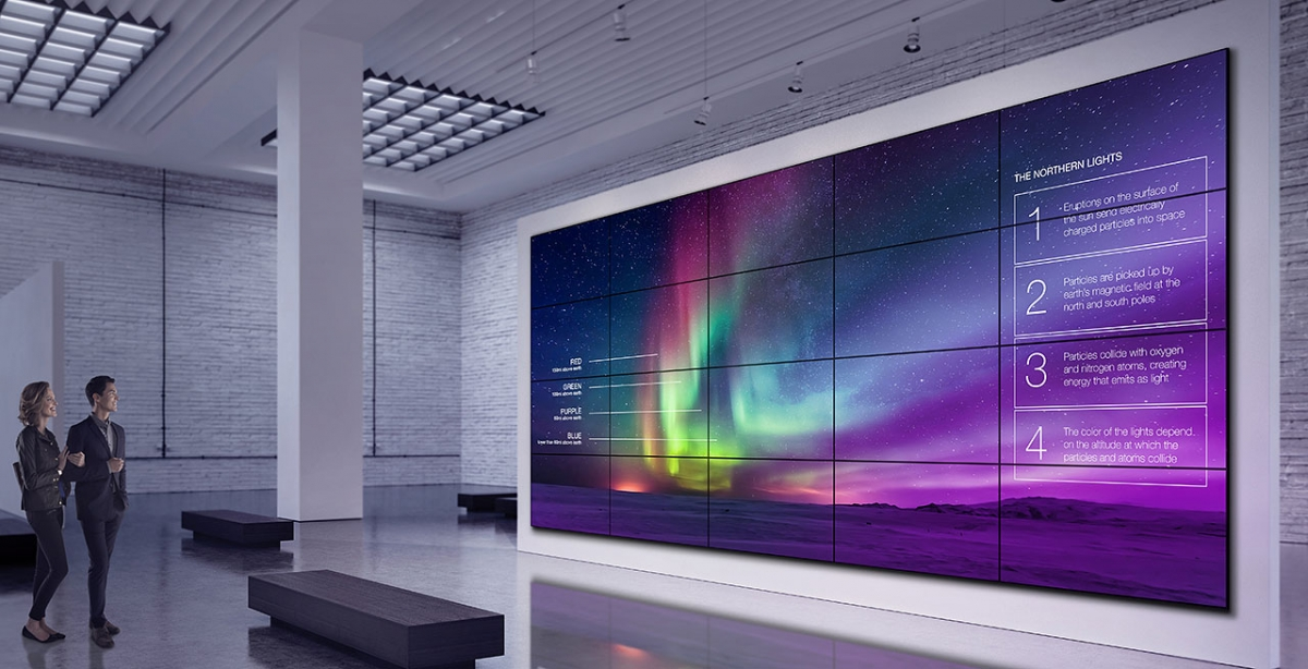 videowall display