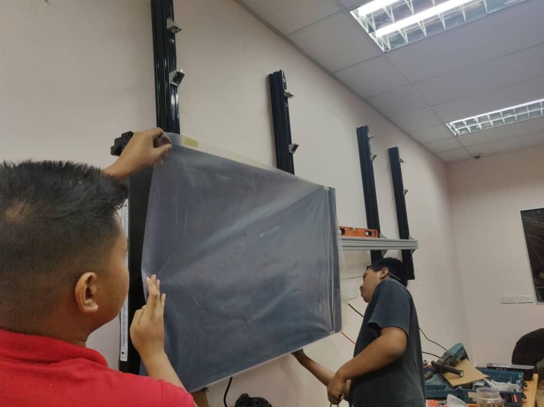 Video Wall Installation For Utm Kuala Lumpur
